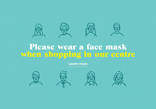 Please consider wearing a face mask when shopping at Eastgate