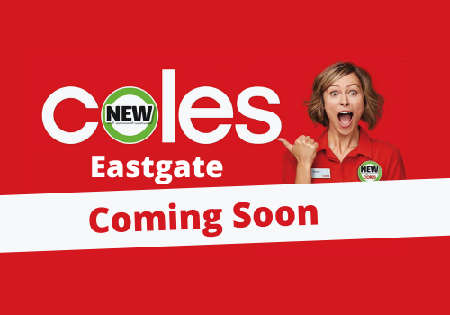 New Look Coles Coming Soon