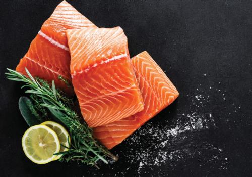 Steve Costi's Seafood   Salmon Special